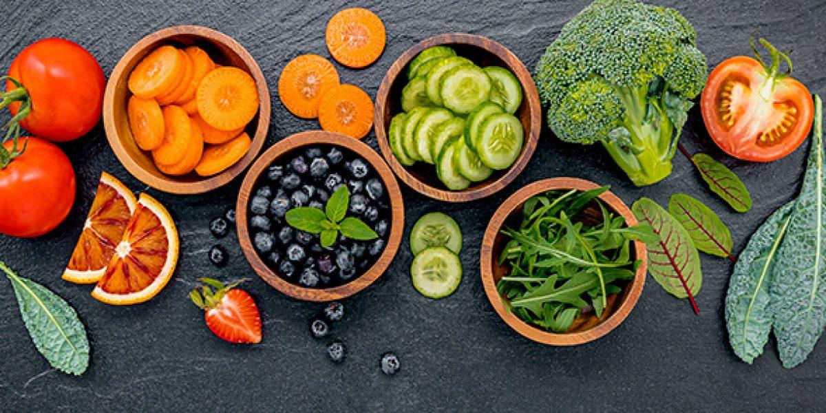 frutas verduras antioxidantes